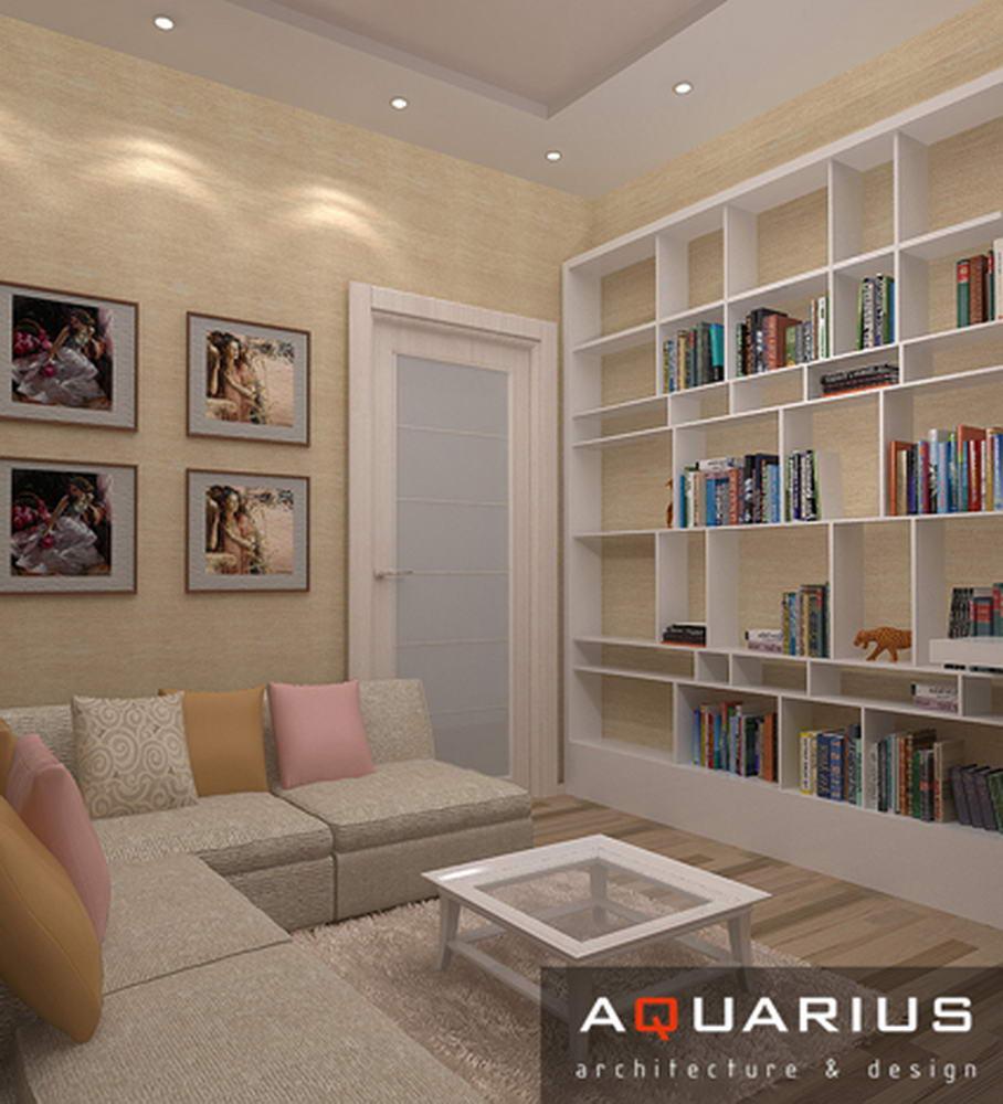 Дизайн квартиры в москве, 98 квм
